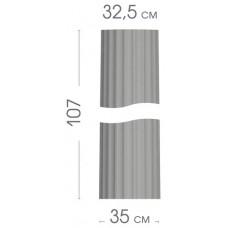Колона конусна з канілюрами 01/350_2